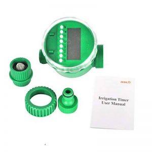 Boruit LCD imperméable à l'eau numérique minuterie d'arrosage automatique minuterie électronique jardin contrôleur d'irrigation de la marque Boruit image 0 produit
