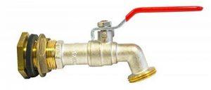 Boutté 0872497 Kit Traversée de cuve laiton 20 x 27 avec robinet 1/4 tour Nez 20 x 27 de la marque Boutté image 0 produit