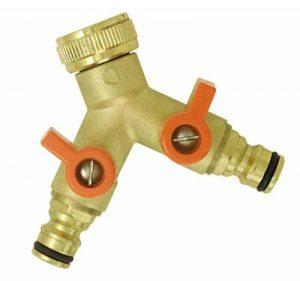 Boutté 2102813 RJM Nez de robinet laiton 2 sorties vannes automatiques de la marque Boutté image 0 produit