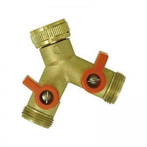 Boutté 2103469 YR20 Nez de robinet avec 2 sorties vannes mâle 20 x 27 de la marque Boutté image 0 produit