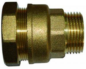 Boutté 2148781 SEM27 Raccord laiton pour tuyau polyéthylène Série fer mâle 20 x 27 tuyau ø 27 de la marque Boutté image 0 produit