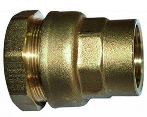 Boutté 2148828 SEF34 Raccord laiton pour tuyau polyéthylène Série fer femelle 26 x 34 tuyau ø 34 de la marque Boutté image 0 produit