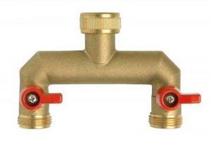 Boutté 2171659 NR202 Nez de robinet droit sélecteur 2 sorties vannes mâle 20 x 27 de la marque Boutté image 0 produit