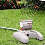 Bradas Arroseur de pelouse WL- Z17 366m², arrosage, irrigation par aspersion impulsion, gris, 10x 10x 6cm. de la marque Bradas image 1 produit