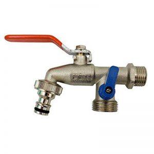Bradas GKK0512 Double robinet 3 x 5 x 2cm Argenté de la marque Bradas image 0 produit