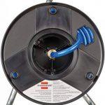 Brennenstuhl 1127010 Anti Twist Enrouleur de tuyau à air, Bleu/noir de la marque Brennenstuhl image 1 produit