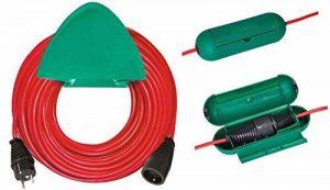 Brennenstuhl 1167541 Rallonge électrique 40 m H05VV-F 3G1,5 avec support mural/boîte de protection Rouge de la marque BRENNENSTUHL image 0 produit