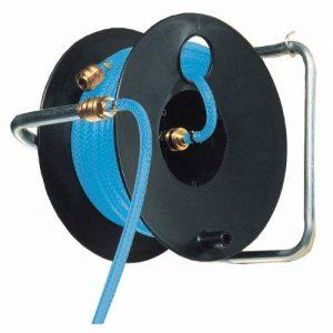 Brennenstuhl Enrouleur tuyau d'air Pro (20 m) avec tuyau pneumatique Ø 6/12mm, raccords rapides et tambour noir, Quantité : 1 de la marque Brennenstuhl image 0 produit