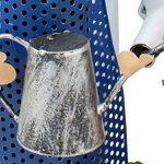 BRUBAKER Porte-bouteille de vin - Couple dans jardin / Jardiniers - Métal - Carte de vœux incluse - Idée cadeau originale - Objet décoratif de la marque Brubaker image 3 produit