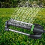 Bulary Arroseur de jardin automatique Arroseur de pelouse Système de pulvérisation d'eau Buse Automatique Balançoire Rotation Réglable Arrosage Jardinage Outils et équipement de la marque Bulary image 1 produit