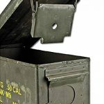 CAISSE BOITE A MUNITIONS US ARMY EN METAL VERT KAKI MILTEC 91592600 MATERIEL OCCASION MILITAIRE ARMEE AMERICAINE de la marque Miltec image 2 produit