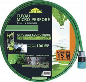 Cap Vert - Tuyau d'arrosage souple perforé équipé / 100 m² - 15 de la marque Cap Vert image 0 produit