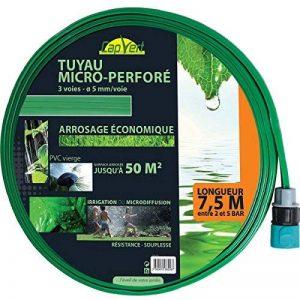 Cap Vert - Tuyau d'arrosage souple perforé équipé / 50 m² - 7,5 de la marque Cap Vert image 0 produit