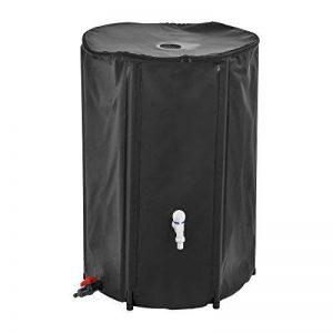 [casa.pro]® Récuperateur d'eau PVC inoxydable et résistant d'UV 250 litres de capacité 60 x 88 cm de la marque casa-pro-® image 0 produit