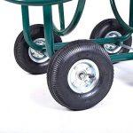 Chariot enrouleur de tuyau d'arrosage 91,4m extérieur Heavy Duty Yard Eau Planter de la marque JDM Auto Lights image 5 produit