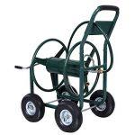 Chariot enrouleur de tuyau d'arrosage 91,4m extérieur Heavy Duty Yard Eau Planter de la marque JDM Auto Lights image 1 produit
