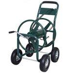Chariot enrouleur de tuyau d'arrosage 91,4m extérieur Heavy Duty Yard Eau Planter de la marque JDM Auto Lights image 2 produit