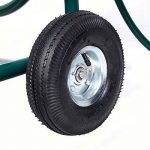 Chariot enrouleur de tuyau d'arrosage 91,4m extérieur Heavy Duty Yard Eau Planter de la marque JDM Auto Lights image 4 produit