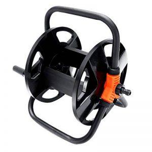 Chariot à tuyau Tvird seringue réglable en continu Enrouleur de tuyau mobile Chariot de tuyau de jardin de la marque Tvird image 0 produit