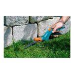 Cisailles à gazon orientables Comfort de GARDENA : cisailles avec tranchants orientables à 360° pour droitiers et gauchers, tranchants dentelés pour une coupe précise, revêtement anti-adhésif, poignée confortable (8734-20) de la marque Gardena image 1 produit
