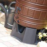 Citerne 210L avec pot de fleurs Embout Tonneau à eau réservoir d'eau robinet et pied assorti Standfuss de la marque TS Exclusiv image 1 produit
