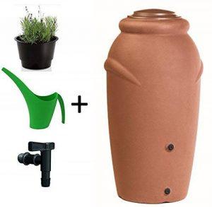citerne tonne Réservoir d'eau Amphore 210L avec récupérateur eau Robinet terracotta de la marque Unbekannt image 0 produit