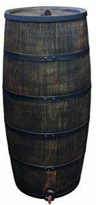 citerne vin tonneau récupérateur d'eau mémoire Fût de Chêne cuve à eau en plastique 500liter de la marque HeRo24 image 0 produit