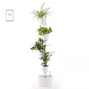 Citysens CS1012jardin Vertical modulaire avec auto-arrosage intelligente, blanc, 4pots de la marque Citysens image 0 produit