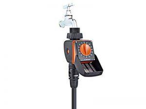 Claber 539228422Aquauno Logica Programmateur d'irrigation, noir/orange de la marque Claber image 0 produit