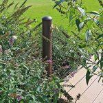 CLGarden WZS1 Colonne point d'eau pour jardin, Robinet d'eau dans un joli look rétro, brun rouillé minable de la marque CLGarden image 2 produit
