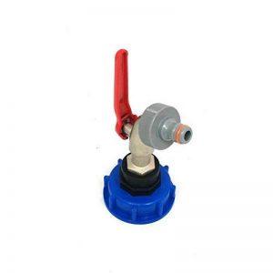 CMTech GmbH Montage Technik cms60133mk99Robinet à boisseau sphérique avec prise Convient pour Gardena, IBC conteneur de Accessoire pour réservoir d'eau de pluie adaptateur de raccord de bidon de la marque CMTech GmbH Montagetechnik image 0 produit