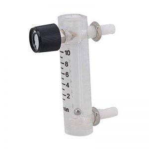 CNBTR LZQ-3 Tuyau Type Acrylique Débitmètre Métal Fixation Gas Rotamètre 0-10 LPM de la marque image 0 produit