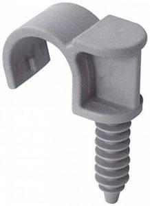 Collier cheville plastique Fix'Pro - Simple - Diamètre de l'embout 22 mm - Vendu par 20 de la marque Fix'Pro image 0 produit