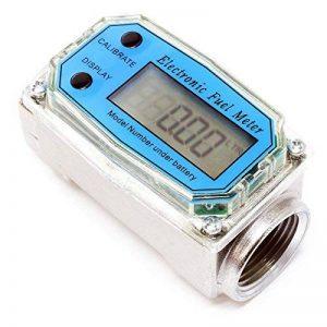 Compteur Débit numérique Pompe Diesel Débitmètre numérique 38-380 l/min Diesel Fioul Compteur fuel de la marque WilTec image 0 produit