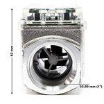 Compteur Débit numérique Pompe Diesel Débitmètre numérique 38-380 l/min Diesel Fioul Compteur fuel de la marque WilTec image 3 produit