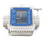 Compteur de débit numérique Débitmètre 10-100 l/min AdBlue® Urée Pompe de la marque WilTec image 1 produit