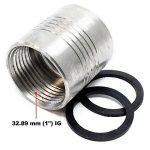 Compteur de débit numérique Débitmètre 10-100 l/min AdBlue® Urée Pompe de la marque WilTec image 4 produit