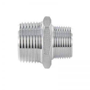 Connecteur acier inoxydable double manchon raccord fileté mâle de la marque KI Fittings image 0 produit