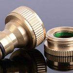 Connecteur de Tuyau, Fansport Adaptateur de Robinet Adaptateur de Tuyau de Raccord de Tuyau de Pivot Pivotant de la marque image 2 produit