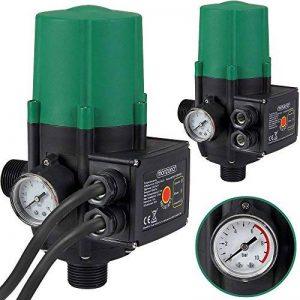 Contrôleur de pression de pompe sans fil 10 bar - Pressostat Jardin de la marque Deuba image 0 produit