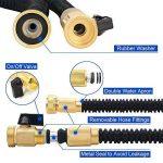 CosyVie Kit de Tuyau d'Arrosage Extensible jusqu'à 30 Mètre(100ft) Tuyau Flexible et Retractable avec Pistolet de 9 Fonctions Professionnels pour Jardin d'Arrosage(Crochet de Tuyau d'Arrosage Inclus) de la marque CosyVie image 1 produit