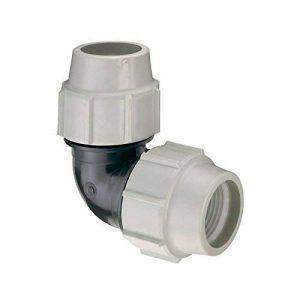 coude à 90 degrés - pour tube pe - diamètre 40 mm - plasson 705040 de la marque Plasson image 0 produit