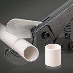 Coupe Tube, HTINAC Cliquet Coupe en Acier au Manganèse - Coupe Tube Robuste pour Couper Diamètre de Tuyau 3 - 25 mm (PEX, PVC et PPR Tuyau) (Gris) de la marque HTINAC image 2 produit