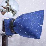 Couverture de protection thermique pour robinet, Sunbeter Hiver Accessoires de robinet de couverture de robinet de jardin pour Anti Gel et protecteur contre le froid (2 Pcs) de la marque Sunbeter image 1 produit