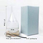 Creative élégant bureau en verre goutte Storm Crafts Météo Tempête Prévisions Bouteille Predictor Baromètre de la marque Générique image 1 produit