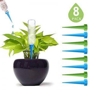 DCZTELG Plante d'arrosage Spike automatique Système de jardin Intérieur ou extérieur pour plantes d'irrigation goutte Système Care vos Fleurs 8-PACK de la marque DCZTELG image 0 produit
