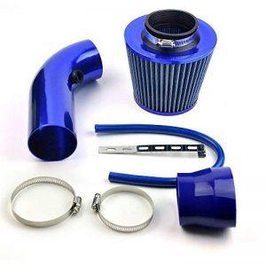 Delipop universel de voiture automobile Racing Prise d'air Filtre Alumimum Tuyau Power Débit Kit Bleu de la marque DELIPOP image 0 produit