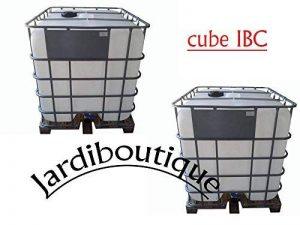 Deux Cuves IBC 1000L pour réserve d'eau - jardiboutique de la marque Jardiboutique image 0 produit