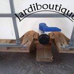 Deux Cuves IBC 1000L pour réserve d'eau - jardiboutique de la marque Jardiboutique image 1 produit