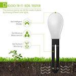 DIGOO DG-TRT1 3 en 1 Testeur/Détecteur d'humidité/Nutrient/ Lumière de Sol Intelligent Plant Jardin Blanc de la marque DIGOO image 3 produit